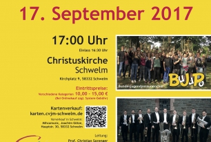 Luther in Brass / Genesis Brass + BuJuPo / Konzert am 17.09.2017