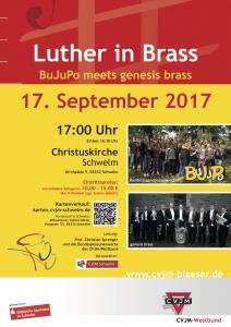 Konzert / Luther in Brass / BuJuPo + Genesis Brass