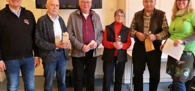 CVJM ehrt Mitglieder und zieht Bilanz des Vereinsjahres