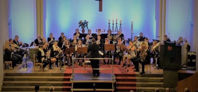 Gelungenes Konzert des Posaunenchores