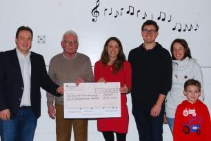 Benefizkonzert: Über 3000 Euro für die Christuskirche