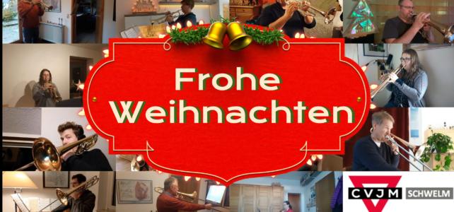 Weihnachtsgruß des Posauenchores